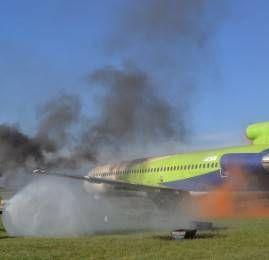 RIOgaleão simula resgate em acidente aéreo