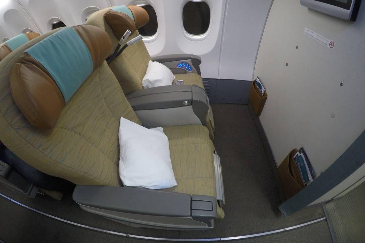 Classe Executiva da Oman Air no B737 – Cairo para Muscat