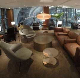 Sala VIP Cathay Pacific First and Business Class Lounge – Aeroporto de Bangkok (BKK)