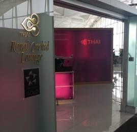 Sala VIP Thai Royal Orchid Lounge – Aeroporto de Hong Kong (HKG)