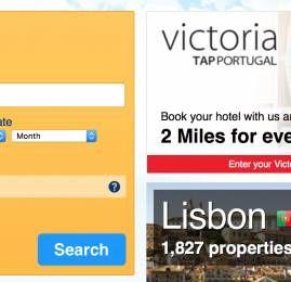 TAP possibilita aos clientes Victoria acumular milhas no booking.com