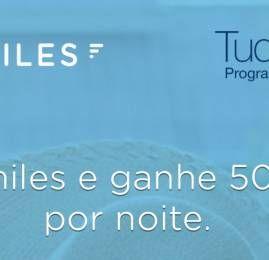 Reserve seu hotel pelo Rocketmiles e ganhe até 10.000 pontos TudoAzul por noite