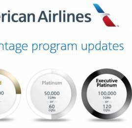 AAdvantage anuncia grandes mudanças no programa para 2016
