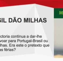 TAP Victoria oferece até 400% de bônus nos vôos entre Brasil e Portugal