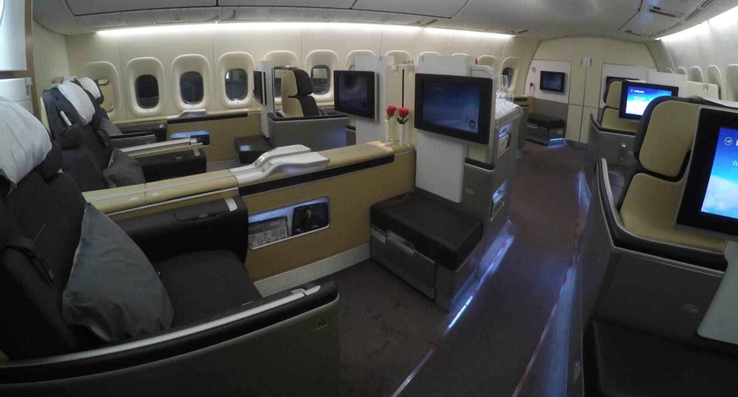 Finalmente Lufthansa volta a liberar emissão de Primeira Classe para o LifeMiles