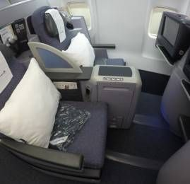Classe Executiva da United no B757 – Los Angeles para Nova York – PS Service
