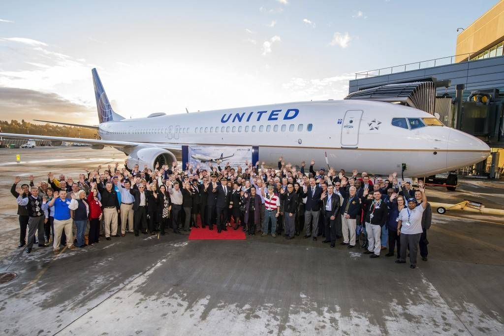 United Airlines Veterans Delivery Event Boeing Field