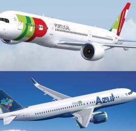 Azul Linhas Aéreas e TAP Portugal firmam acordo de codeshare