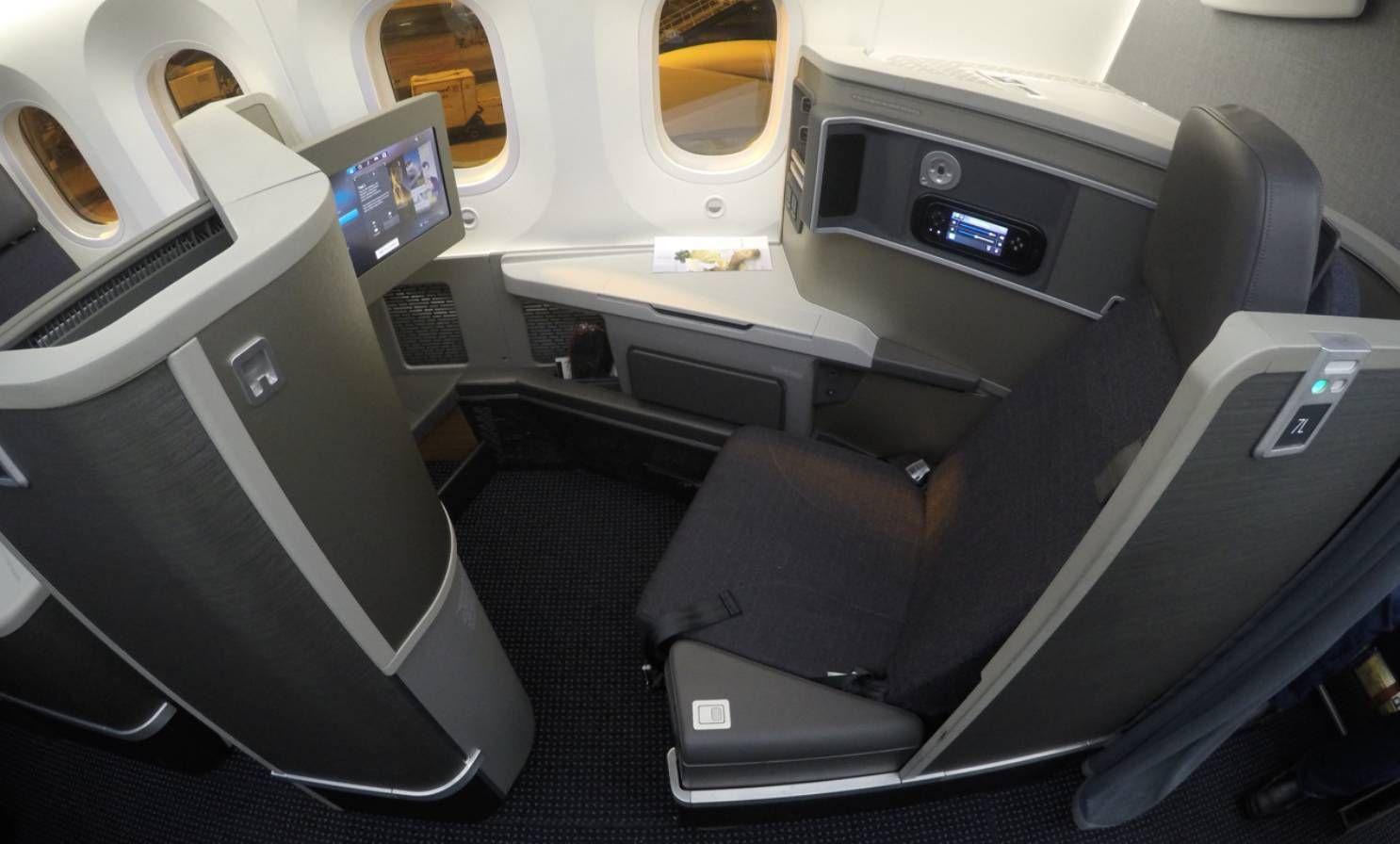 American Airlines B787 - Classe Executiva