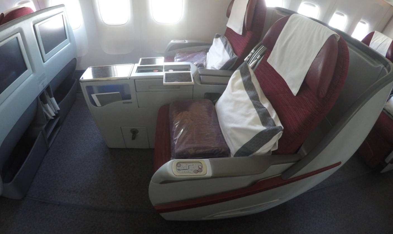 Qatar Airways B777-300ER - Classe Executiva