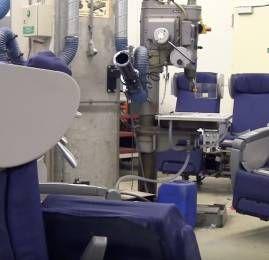 KLM reaproveita materiais da World Business Class em parceria com escola de design