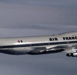 Air France fará um voo excepcional no tributo ao 747