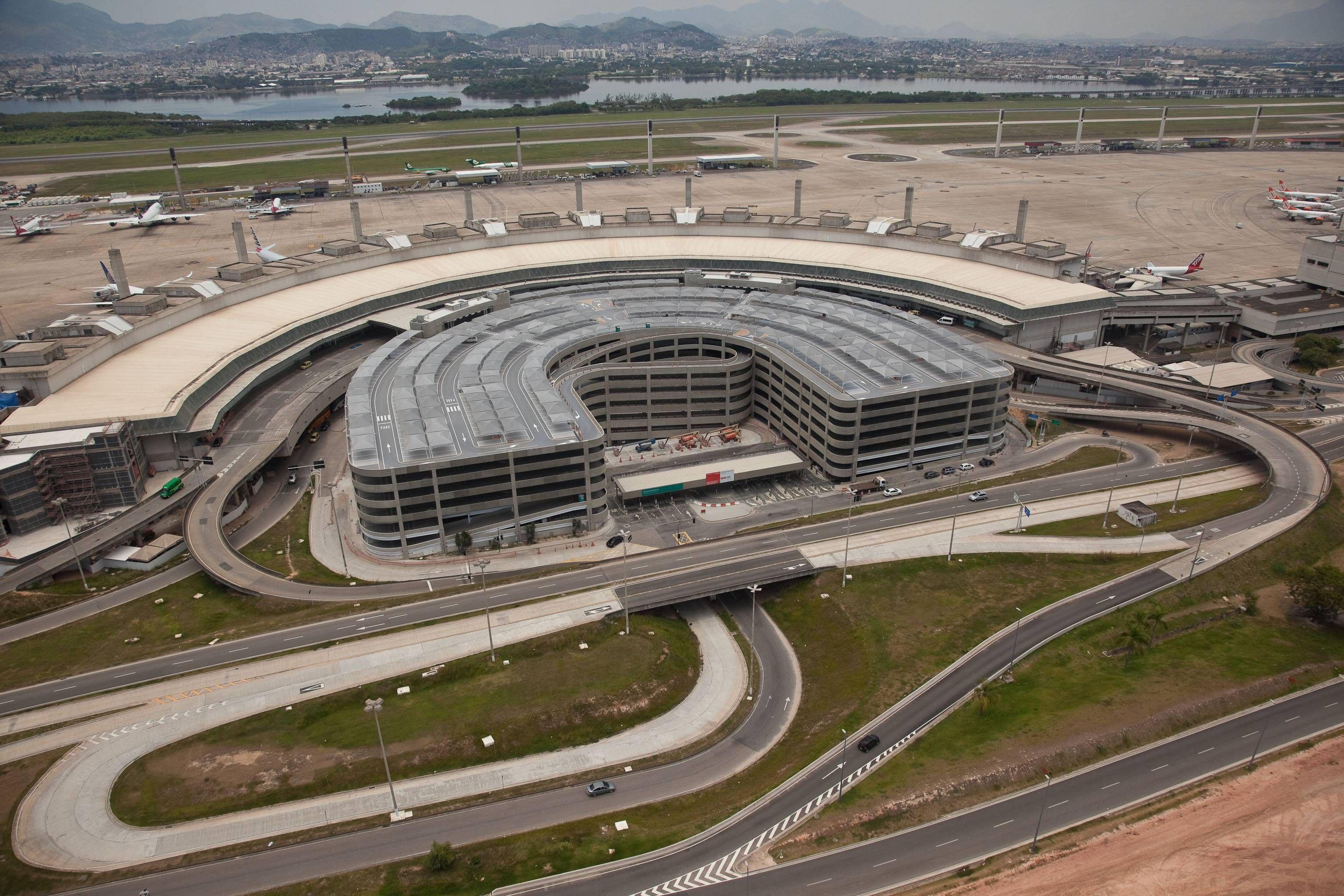 RIOgaleão - Aérea Edifício Garagem (EDG )