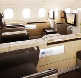 Lufthansa agora permite upgrade de classe por preço fixo