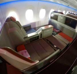 Nova Classe Executiva da TAM no A350XWB – São Paulo para Manaus