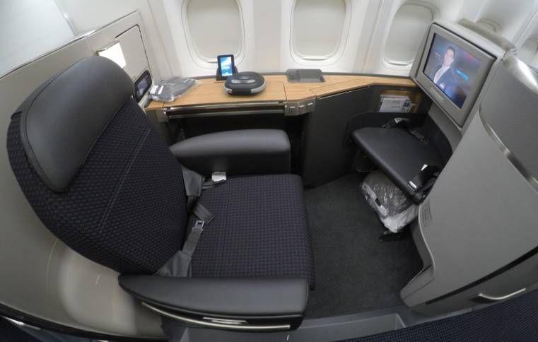 Primeira Classe da American Airlines no B777-300ER – Dallas para São Paulo