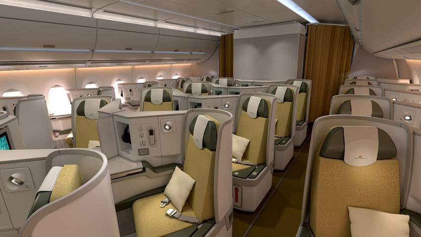 Classe Executiva da Vietnam Airlines