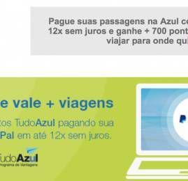 Azul e PayPal ampliam parceria com primeiro programa de vantagens