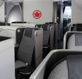 Air Canada vai começar a operar com a nova classe executiva nos vôos de/para o Brasil