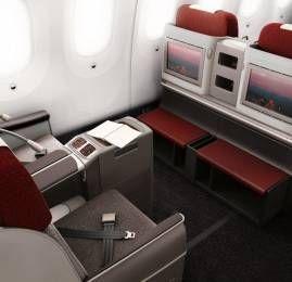 LAN vai permitir você dar lance para receber um upgrade em voo