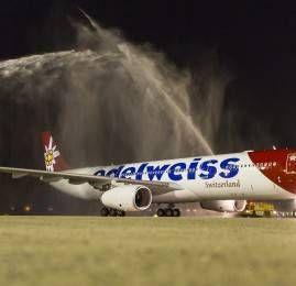 Edelweiss, empresa do grupo SWISS, começa a voar para o Rio de Janeiro