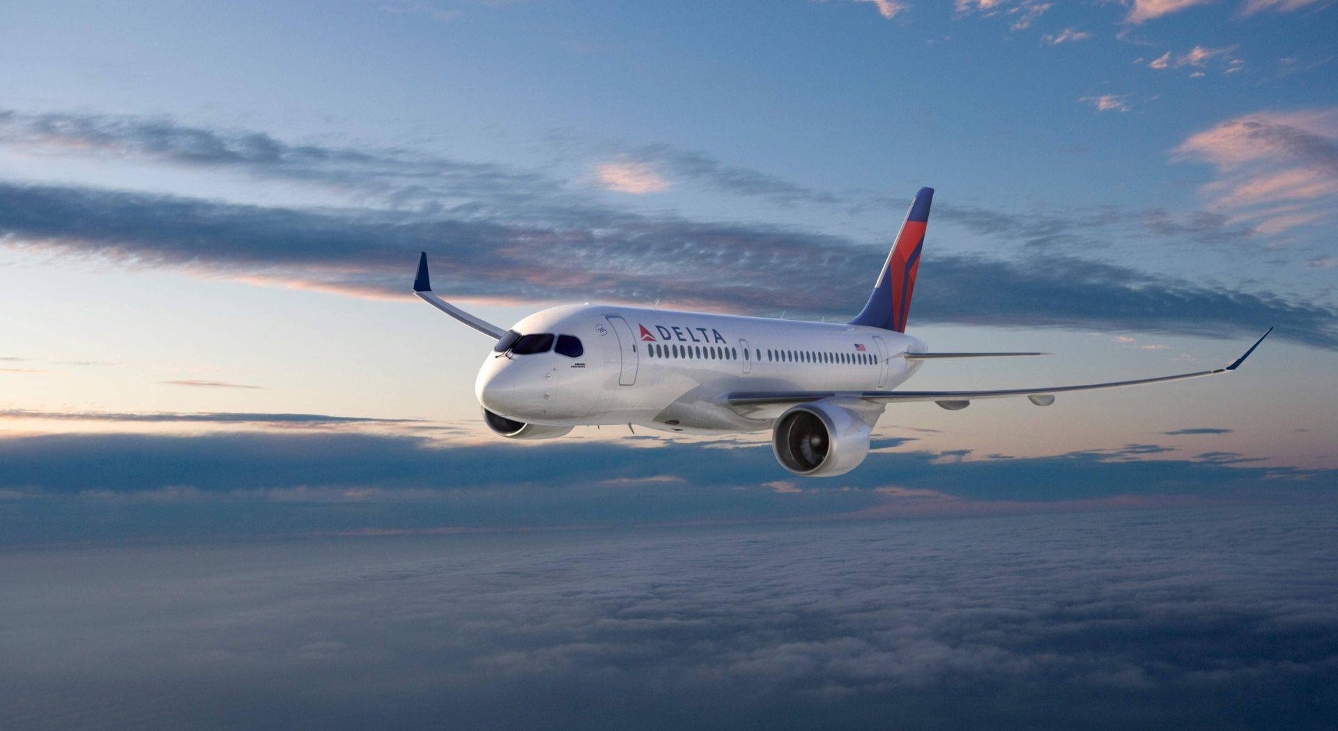 Delta encomenda aeronaves C Series da Bombardier