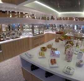 Sala VIP Fantazja Executive Lounge – Aeroporto de Varsóvia (WAW)