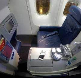 Classe Executiva da Delta no B767-400ER – São Paulo para Nova York