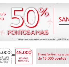 Programa Amigo oferece 50% de bônus nas transferências do Santander