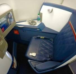 Classe Executiva da Delta no A330 – Atlanta para o Rio de Janeiro