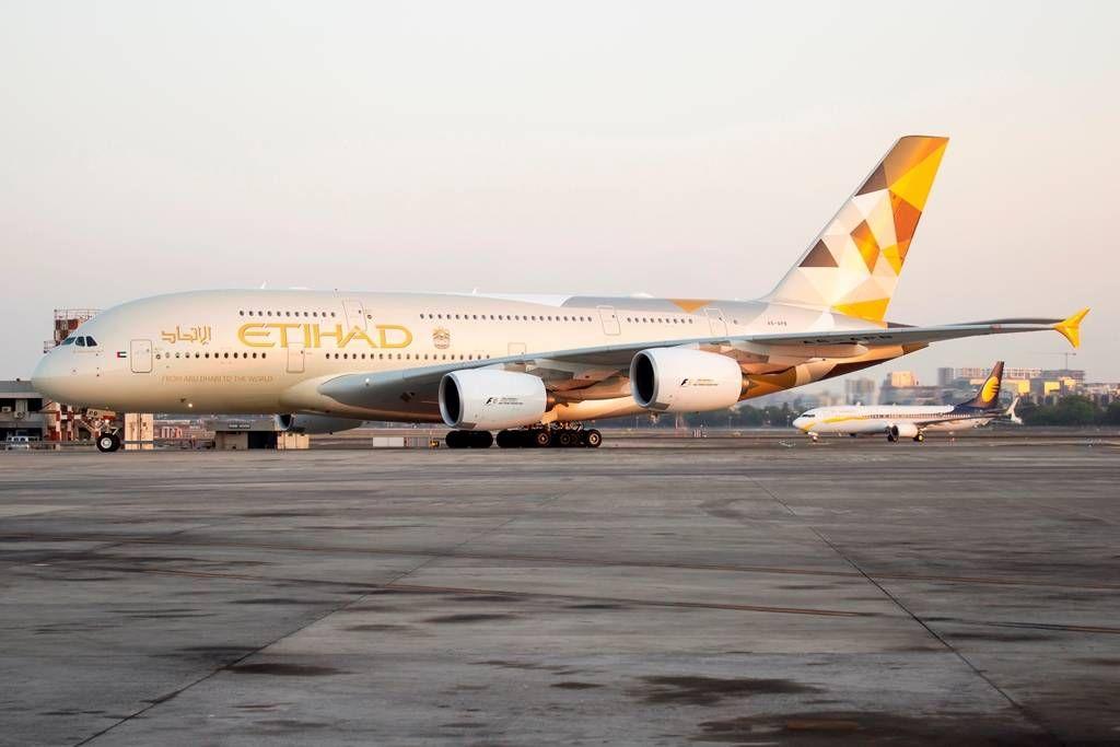 Mumbai se torna o quarto destino a ser operado pelo A380 da Etihad Airways