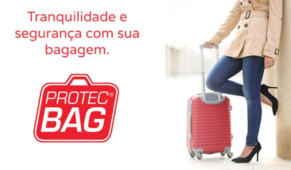 Protec Bag relança parceria com TAM/LAN e KM de Vantagens para dar desconto nas embalagens de malas
