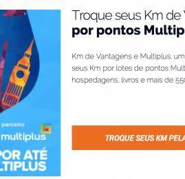 KM de Vantagens oferece 50% de bônus de volta nas transferências para o Multiplus e anuncia aumento para o mês que vem