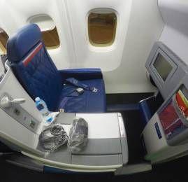 Classe Executiva da Delta no B767-300ER – São Paulo para Orlando