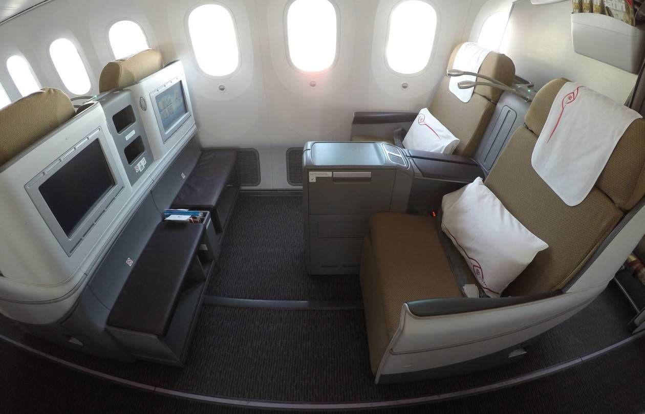 Classe Executiva da Kenya Airways no B787 – Johannesburgo para Nairobi