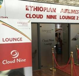 Sala VIP Cloud Nine by Ethiopian Airlines – Aeroporto de Addis Ababa