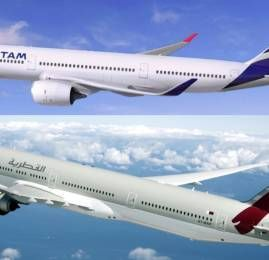 Qatar Airways anuncia compra de 10% da LATAM