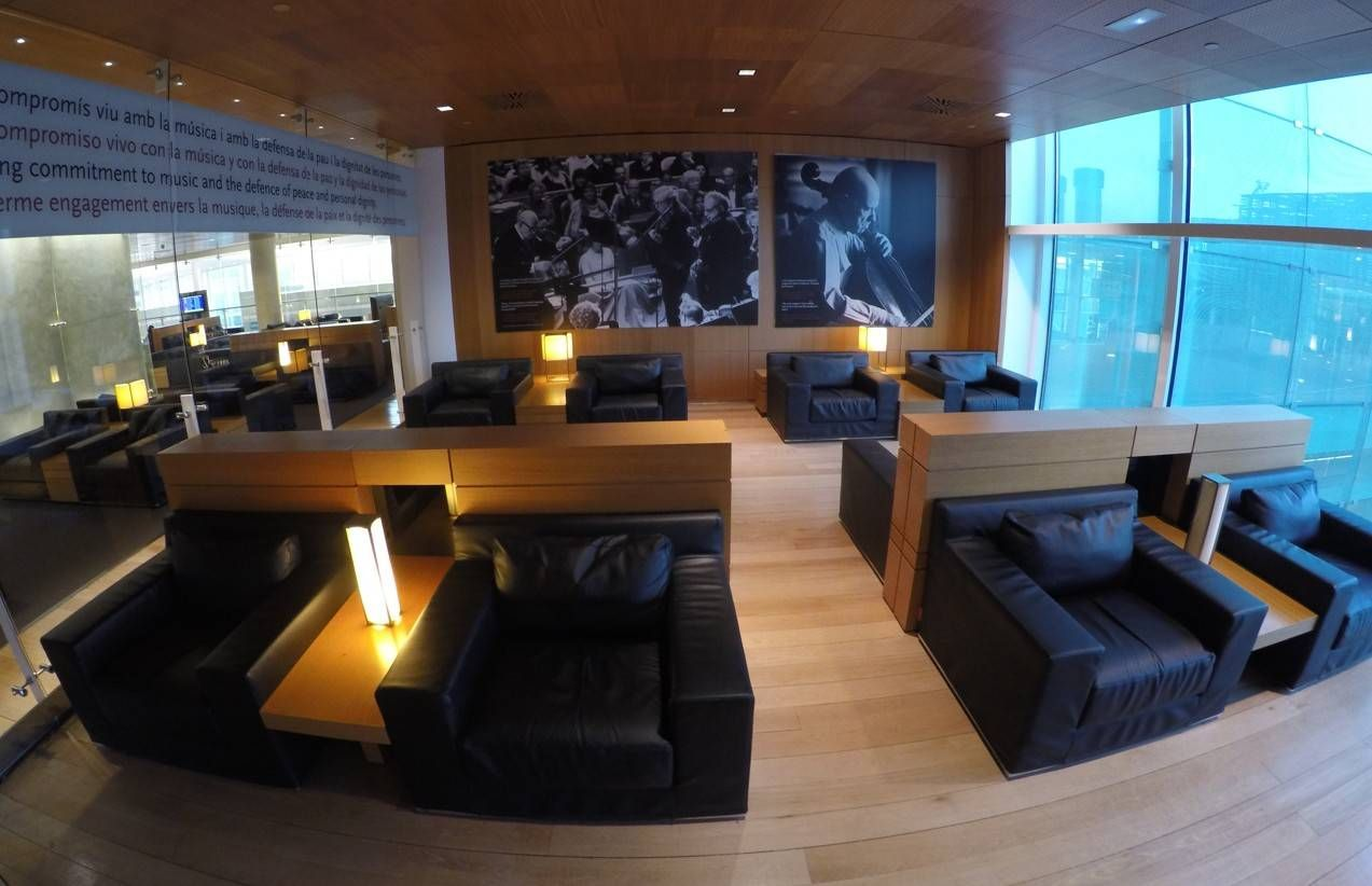 Sala VIP Pau Casals – Aeroporto de Barcelona (BCN)