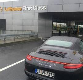 Lufthansa First Class Terminal e Porsche Excitement