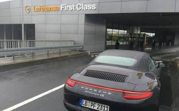 Lufthansa First Class Terminal e Porsche Excitement