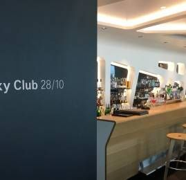 Sala VIP Swiss Senator Lounge E – Aeroporto de Zurich (ZRH)