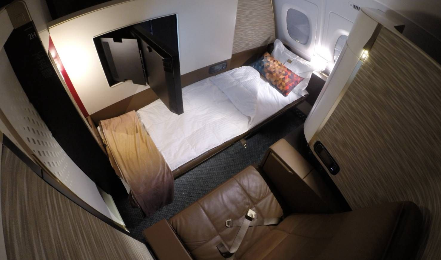 Primeira Classe da Etihad no A380