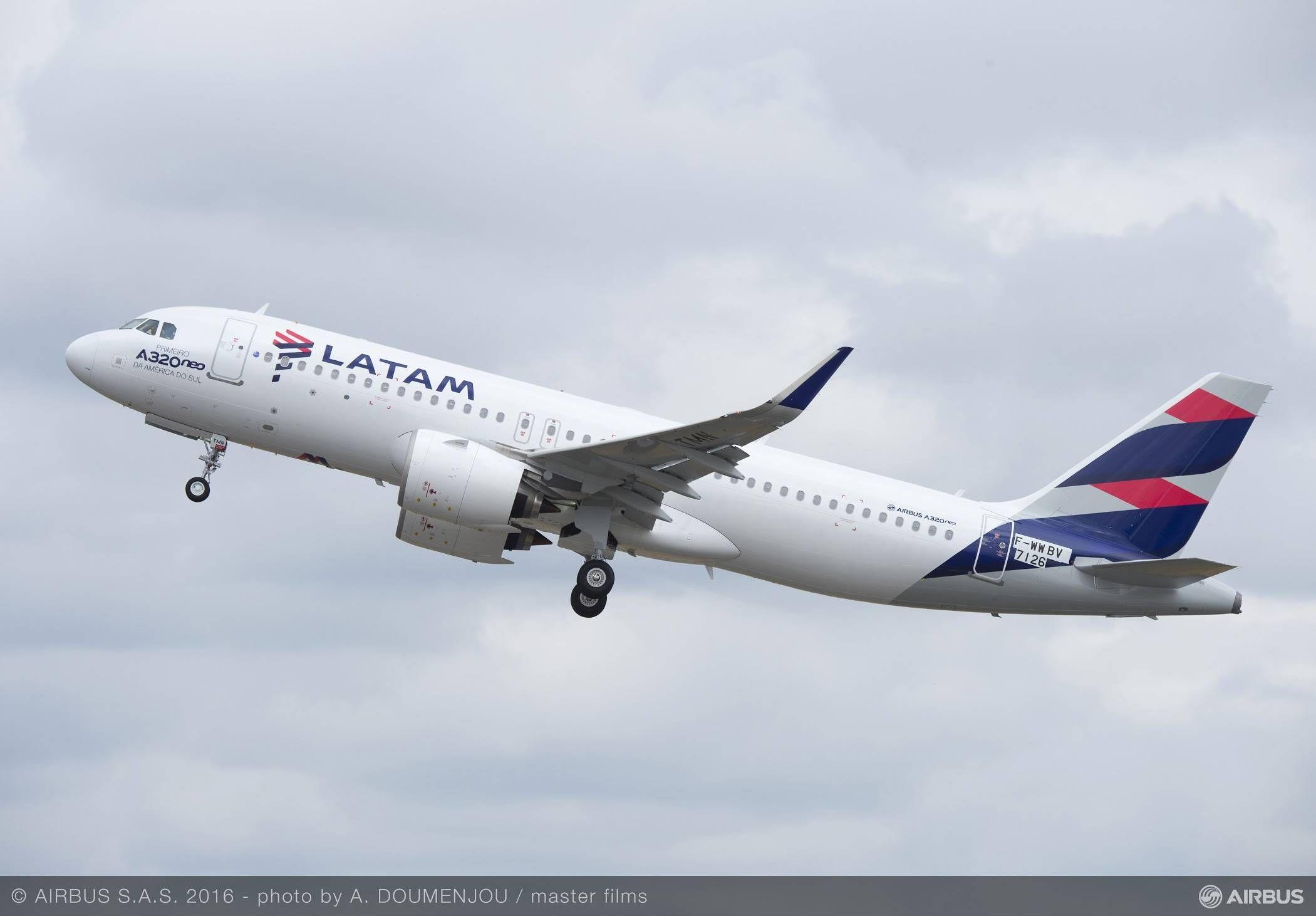 LATAM Airlines Brasil estreia operações aéreas com o primeiro A320neo das Américas