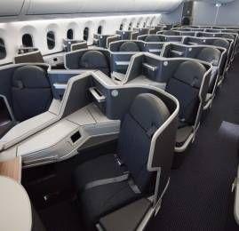 Conheça o interior do novo B787-9 que a American Airlines recebeu hoje