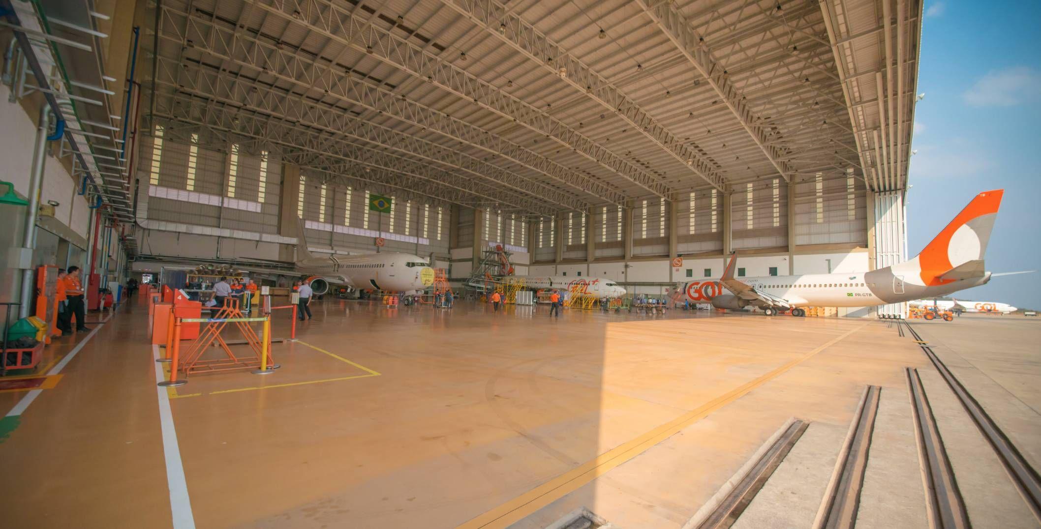 GOL inicia no Brasil instalação de antena nas aeronaves para conexão à internet via satélite