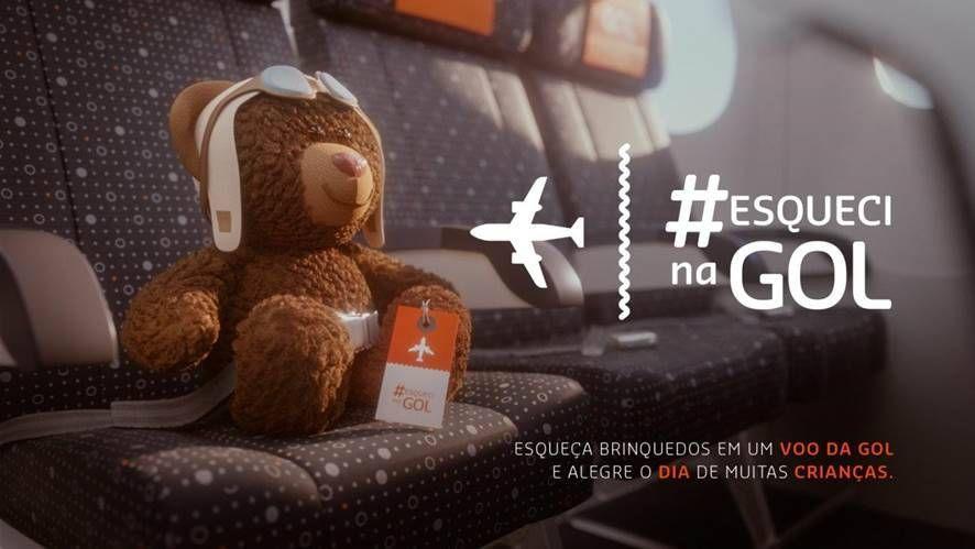Participe da criativa campanha da GOL do Dia das Crianças