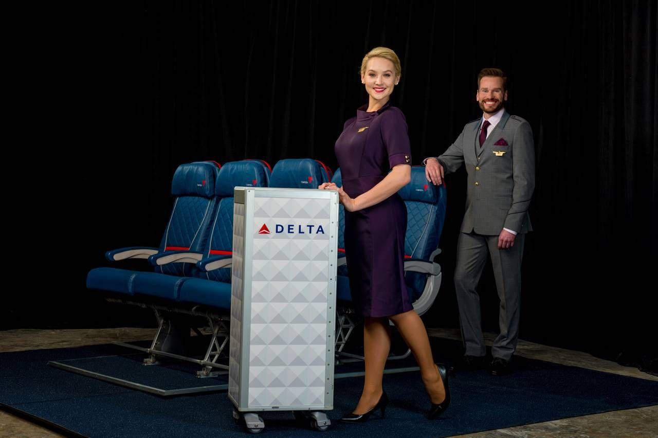 Delta apresenta novos uniformes em parceria com Zac Posen