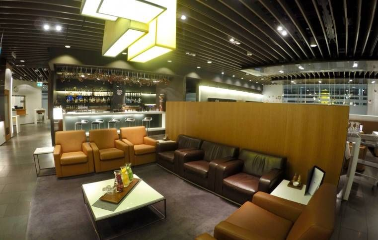 Sala VIP Lufthansa First Class Lounge – Aeroporto de Munique (MUC)