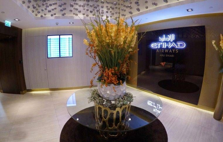 Sala VIP Etihad First Class Lounge & Spa – Aeroporto de Abu Dhabi (AUH)