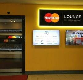 Sala VIP Mastercard Lounge – Aeroporto de Praga (PRG)